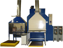 500Ton Downstroke press for Aerospace research